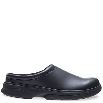 Wolverine Men's Serve SR LX Clog Slip-On Food Service Shoe: Shoes