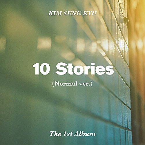 KIM SUNG KYU INFINITE - 10 Stories (Vol.1) [Normal ver.] CD+Postcard+Photocard+Folded Poster+Free - Sung La