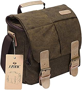 S-ZONE Vintage Waterproof Camera Shoulder Bag-