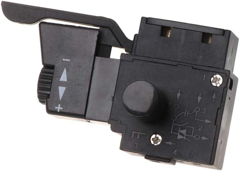1BEK Verrouillage du Bouton de d/éclenchement de la Commande de Vitesse de perceuse /électrique de loutil /électrique BIlinli FA2-6