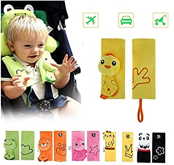 Car Seat Belt Shoulder Pads Cartoon Baby Animal Cover Safety Strap Pillow Pad