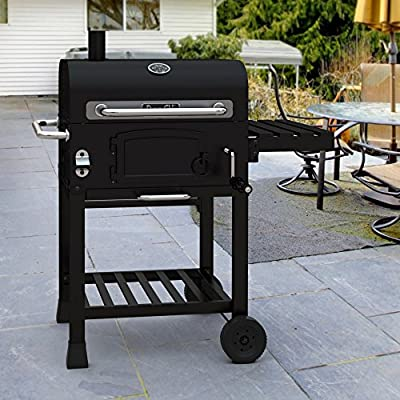 Dyna-Glo DGD381BNC-D Compact Charcoal Grill by GHP-Group Inc