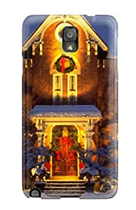New Tpu Hard Case Premium Galaxy Note 3 Skin Case Cover(christmas S Home Decoration Christmas )