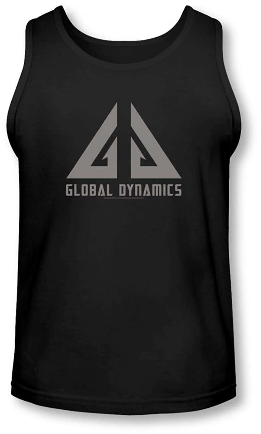 Eureka - Mens Global Dynamics Logo Tank-Top