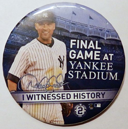 YANKEE STADIUM BUTTON WITNESSED HISTORY product image