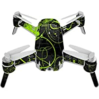 Skin For Yuneec Breeze 4K Drone – Green Distortion | MightySkins Protective, Durable, and Unique Vinyl Decal wrap cover | Easy To Apply, Remove, and Change Styles | Made in the USA