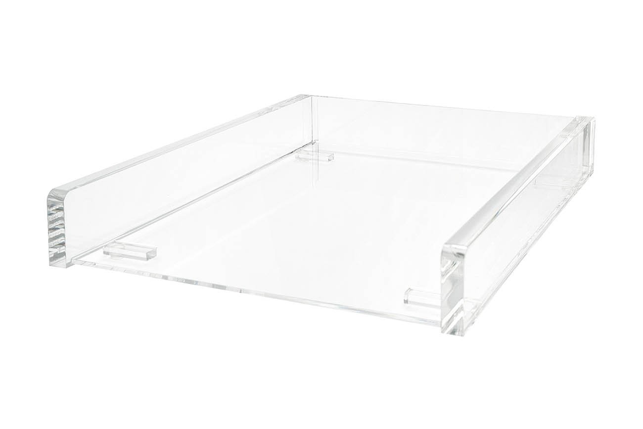 Wedo 0608016 Vaschetta Portacorrispondenza in Acrilico A4, Trasparente Cristallic Werner Dorsch GmbH