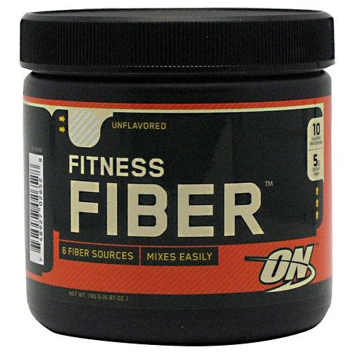 Optimum Nutrition Fitness Fiber, Unflavored, 6.87oz Tub -4pa