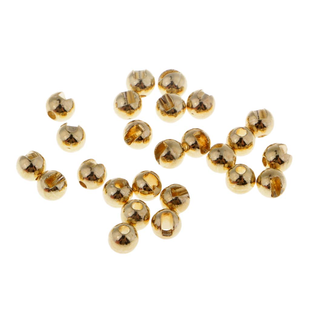 Angeln Zuebeh/ör FLAMEER 25 St/ück Wolfram 4mm Fliegenbinden Perlen f/ür Jig Haken