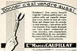 1926 Ad Marcel Gaupillat 39 Rue Bouret Paris Marketing Advertising Pen Branding - Original Print Ad
