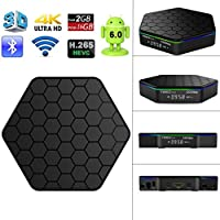 T95z Plus 2GB 16GB Amlogic S912 Android 6.0 Smart Android Box Octa core Fully Load 2.4GHz 5GHz WIFI BT4.0 4K H.265 Resolution Set-Top Box