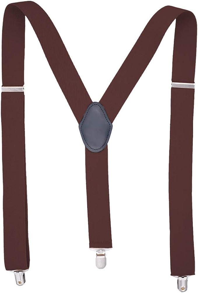 Elastische Unisex Y-Form Hosenträger Herren Damen Verstellbare Hosenträger