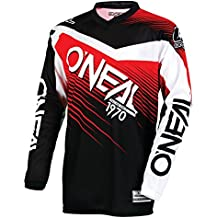 O'Neal 0008-302 Mens Element Racewear Jersey (Black/Red, Small)