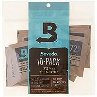 Boveda 72% Rh 2-Way Humidity Control, 8 g, 10 Pack