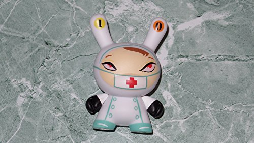 - Kidrobot Project The 13 Dunny Series #10 Nurse Cackle (White) 3