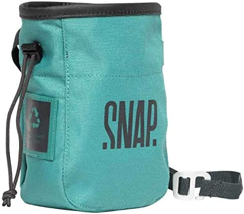 Snap Climbing Bolsa de magnesio Green Chalk Pocket