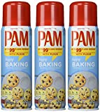 Pam Baking No-stick Cooking Spray 3pcs