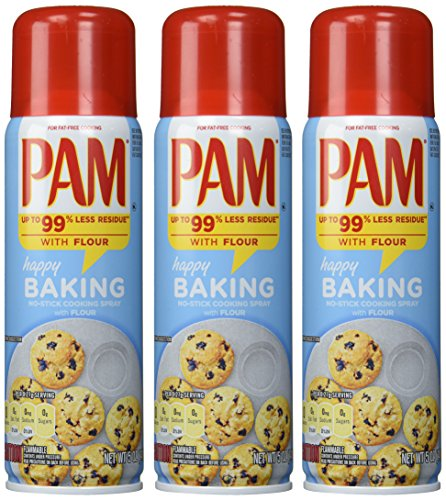 Pam Baking No-stick Cooking Spray 3pcs