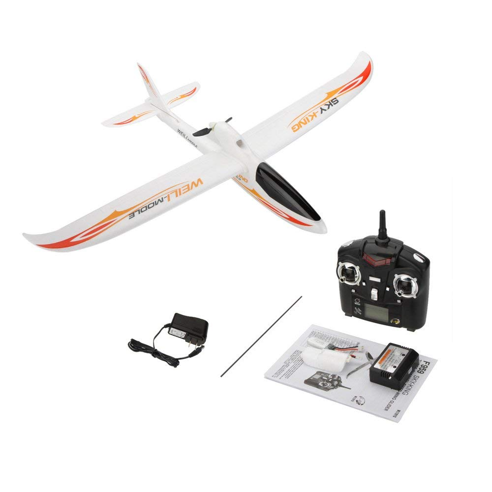 Park10 Toys F959 Sky-King 2.4G 3CH Radio Control RC Airplane Aircraft RTF (Red) by Park10 Toys (Image #3)