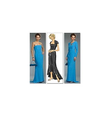 Butterick 4731 AA - Patrones de costura para vestido y ...