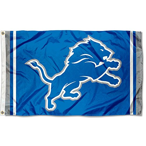 WinCraft Detroit Lions New Logo Flag ()