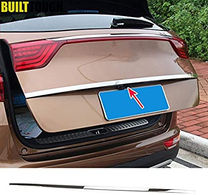 Rear Chrome Trunk Tailgate Molding Trim For Select Cadillac Models