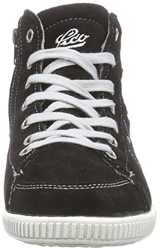 Lico Valerie Damen Hohe Sneakers Schwarz (Schwarz/Grau)