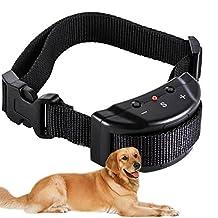 Dog Training Anti-Bark Collar, Kolis Automatic Anti Bark Tone Dog Training Collar Shock Collars Control Ultrasonic with 7 Sensitivity Levels Harmless Warning System for Medium Large or Small Dogs 15-120 Pound Dogs