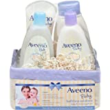 Aveeno Bathtime Solutions 4-Piece Gift Set