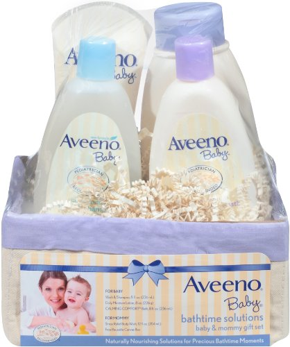 Aveeno Baby Daily Bathtime Solutions Gift Set