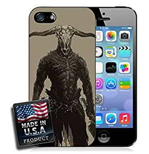 Goat Head Scary Animal Man Horror Videogame iPhone 4/4s Hard Case