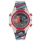 Disney Kids' Cars Digital Display Multi-Color Watch CRSKD16004FL