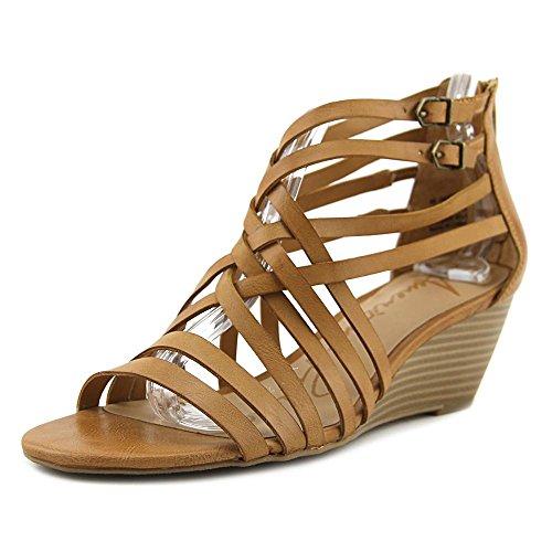 American Rag Womens Mariel Open Toe Casual Strappy Sandals Cognac