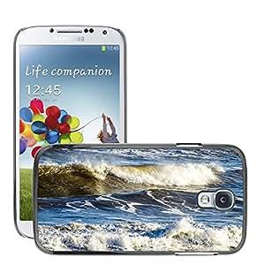 Etui Housse Coque de Protection Cover Rigide pour // M00153141 Olas azul espuma del mar al aire libre // Samsung Galaxy S4 S IV SIV i9500