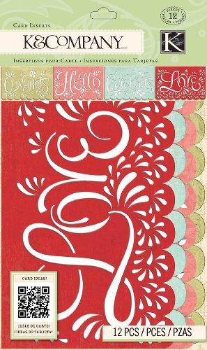tmarks Collection Die-Cut Vellum Card Insert ()