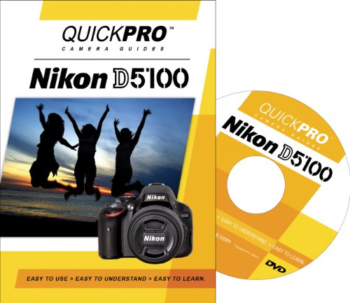 Nikon D5100 Instructional DVD by QuickPro Camera ()