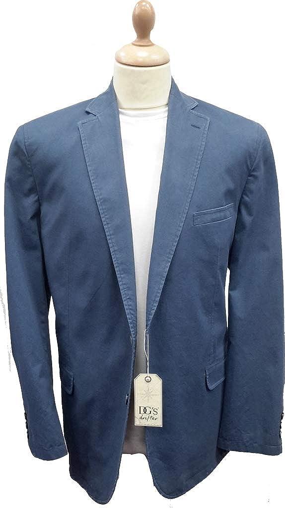 Drifter Blue Cotton Jacket 10411