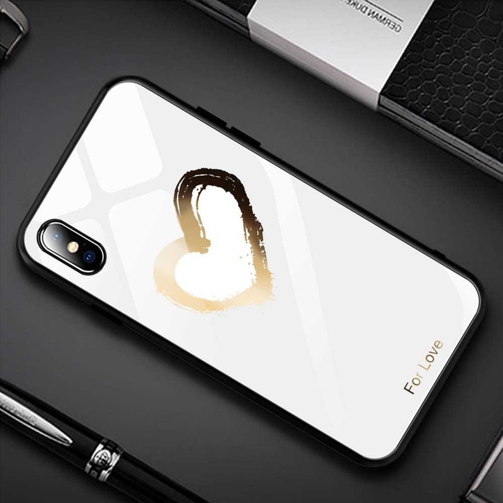 Alsoar Compatible para Xiaomi Mi 8 Lite Funda Vidrio Templado Protectora Trasera Moda Lindo Patr/ón Silicona TPU Suave Marco Bumper Carcasas Anti-Rasgu/ño Anti-Shock Cubiertas Hojas