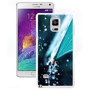 New Beautiful Custom Designed Cover Case For Samsung Galaxy Note 4 N910A N910T N910P N910V N910R4 With Rain Umbrella (2) Phone Case