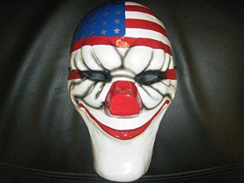 WRESTLING MASKS UK UK Based - Payday 2 Dallas Very Hard Cosplay Mask]()