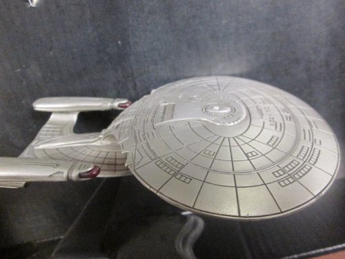 Star Trek The Next Generation Franklin Mint Enterprise NCC-1701 Pewter Model