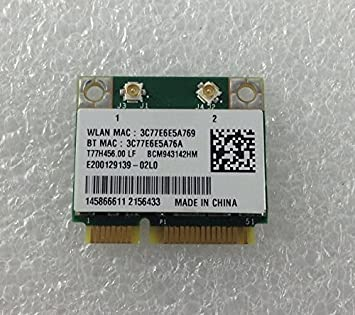 Sony contera Escalera Aluminio SVF WiFi WiFi WLAN Tarjeta Wireless Mini PCI-E bcm943142hm: Amazon.es: Electrónica