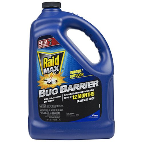Raid Max Bug Barrier Refill, 128 Fluid Ounce -