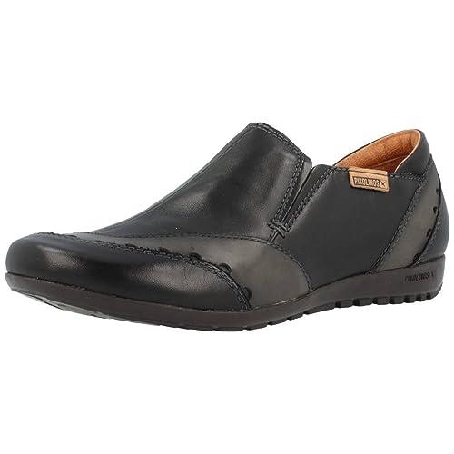 Mocasines para mujer, color Negro , marca PIKOLINOS, modelo Mocasines Para Mujer PIKOLINOS LISBOA 767 9982C1 Negro: Amazon.es: Zapatos y complementos