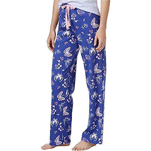 (Charter Club Printed Pajama Pants, Butterfly Toile, X-Large)