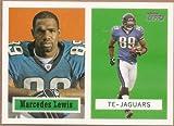 2006 Topps Turn Back the Clock #22 OF 22 MARCEDES LEWIS Jacksonville Jaguars