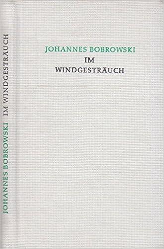 Im Windgesträuch Gedichte Aus Dem Nachlass Amazonde