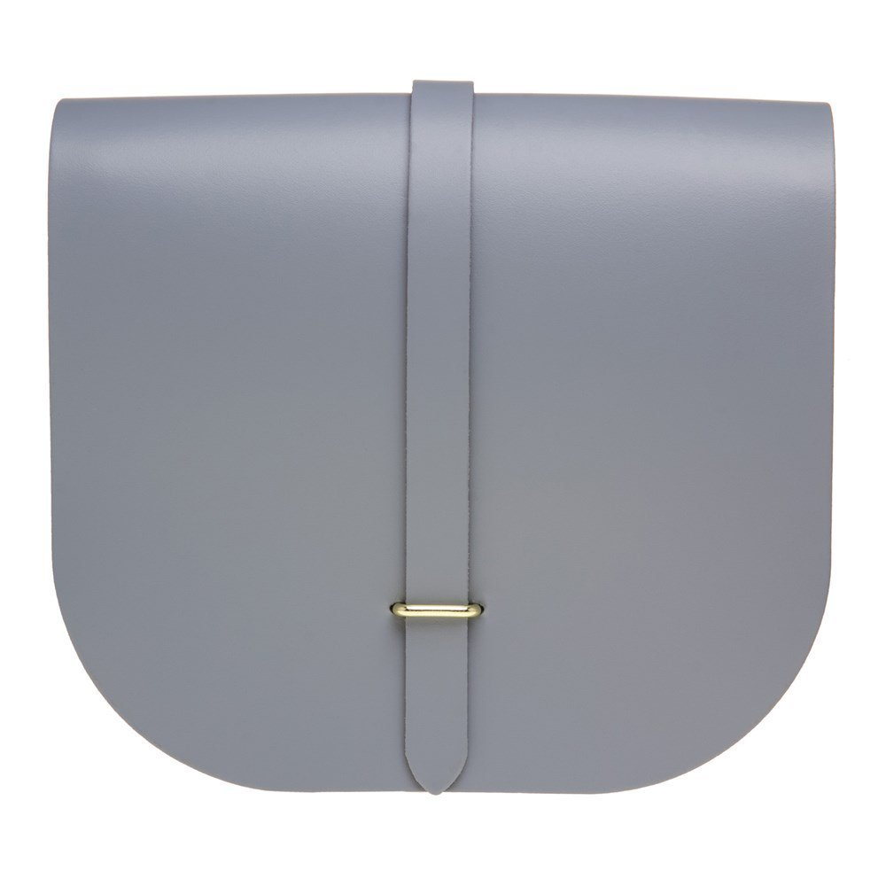 The Cambridge Satchel Company Saddle Womens Handbag Grey