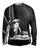Yizzam- Charlie Chaplin The Gold Rush Boot -TShirt- Mens Long Sleeve -Medium