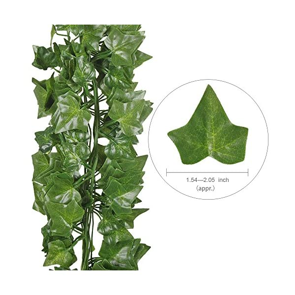 Hogado-84-Feet-Artificial-Hanging-Plants-Fake-Vines-Silk-Ivy-Leaves-Greenery-Garland-for-Wedding-Kitchen-Wall-Outdoor-Party-Festival-Decor